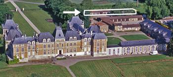 Le Château de Clermont - Les Vergers de Clermont, salle de réception